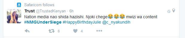 Njoki Chege Plagiarist claims #NMGUnderSiege 5