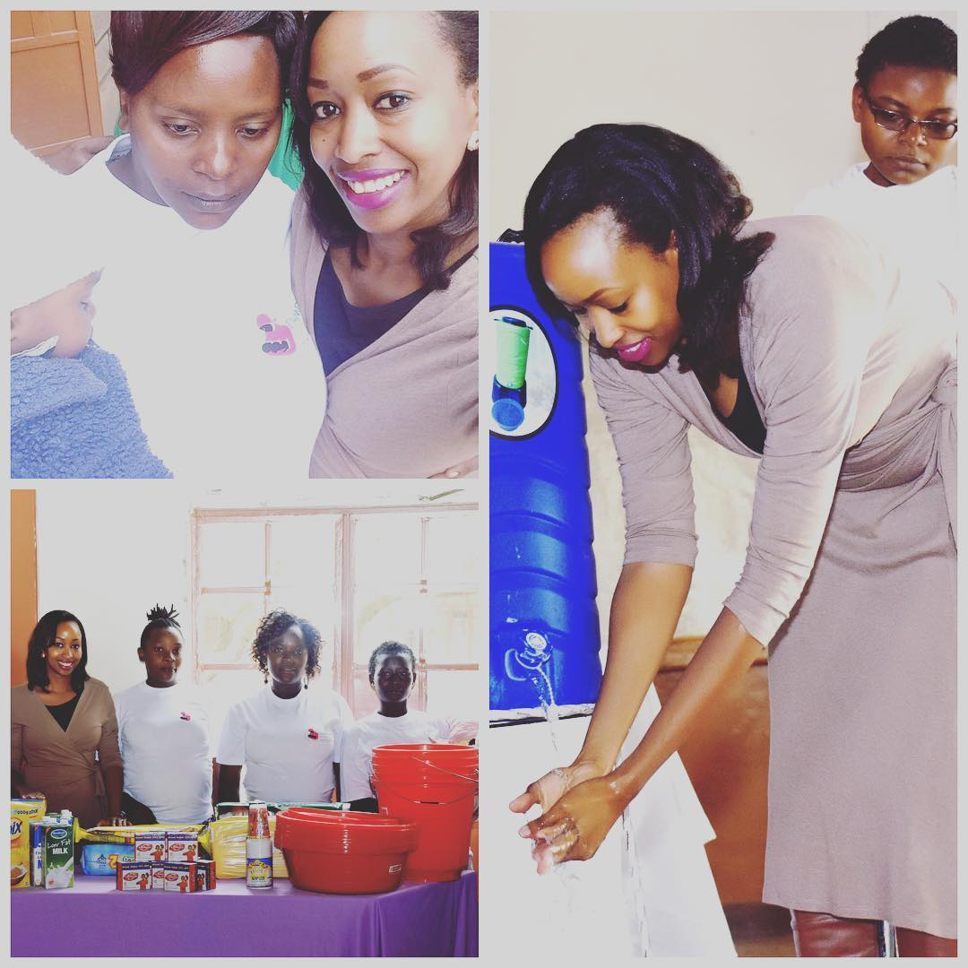 Citizen TV news anchor Janet Mbugua