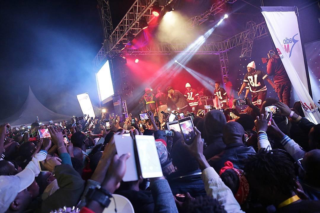 Diamond platnumz Show in Meru