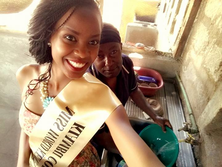 Evelyn Njambi miss world Kenya 2016
