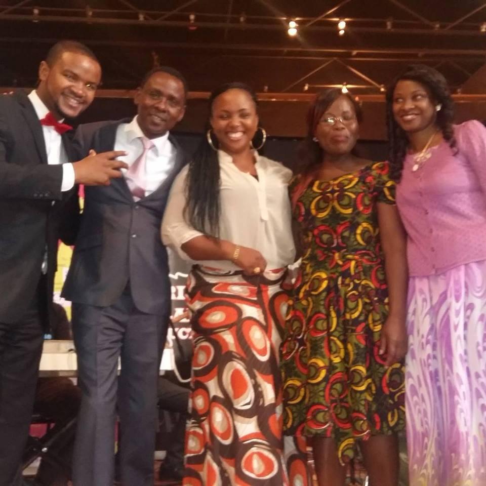 Kanze Dena and Francis Mwangi