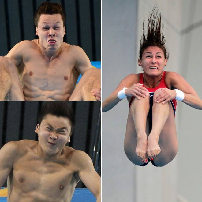 Meanwhile at the 2016 Olympics 2