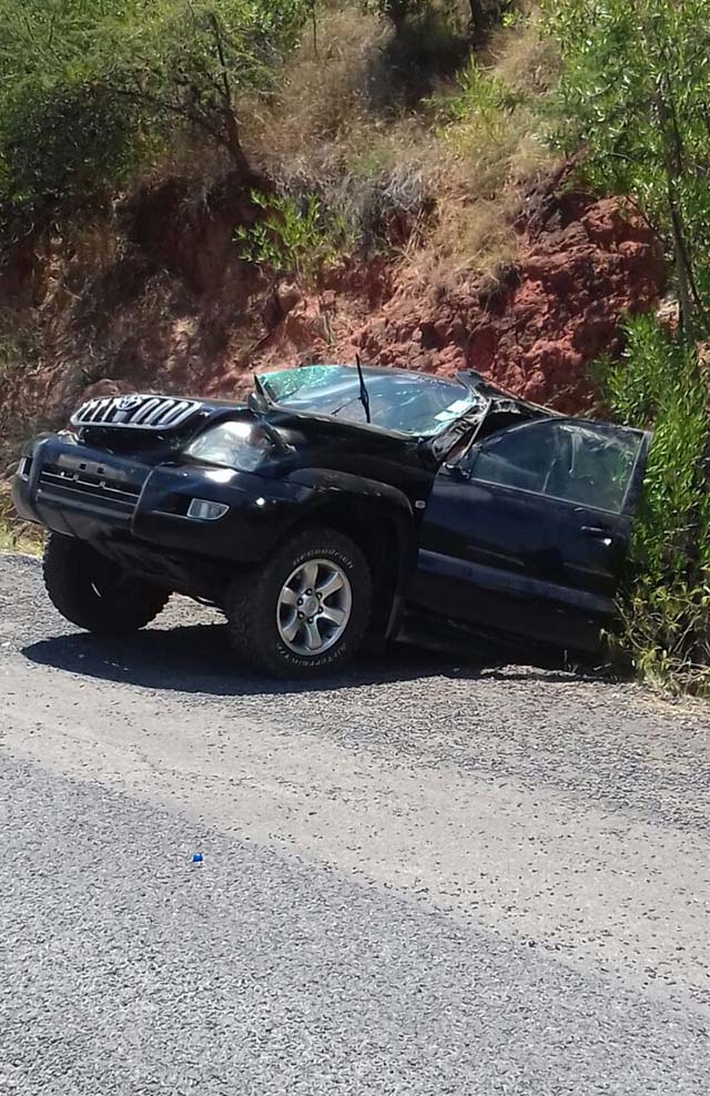 Baringo county women rep Grace Kiptui involved in yet another grisly road accident
