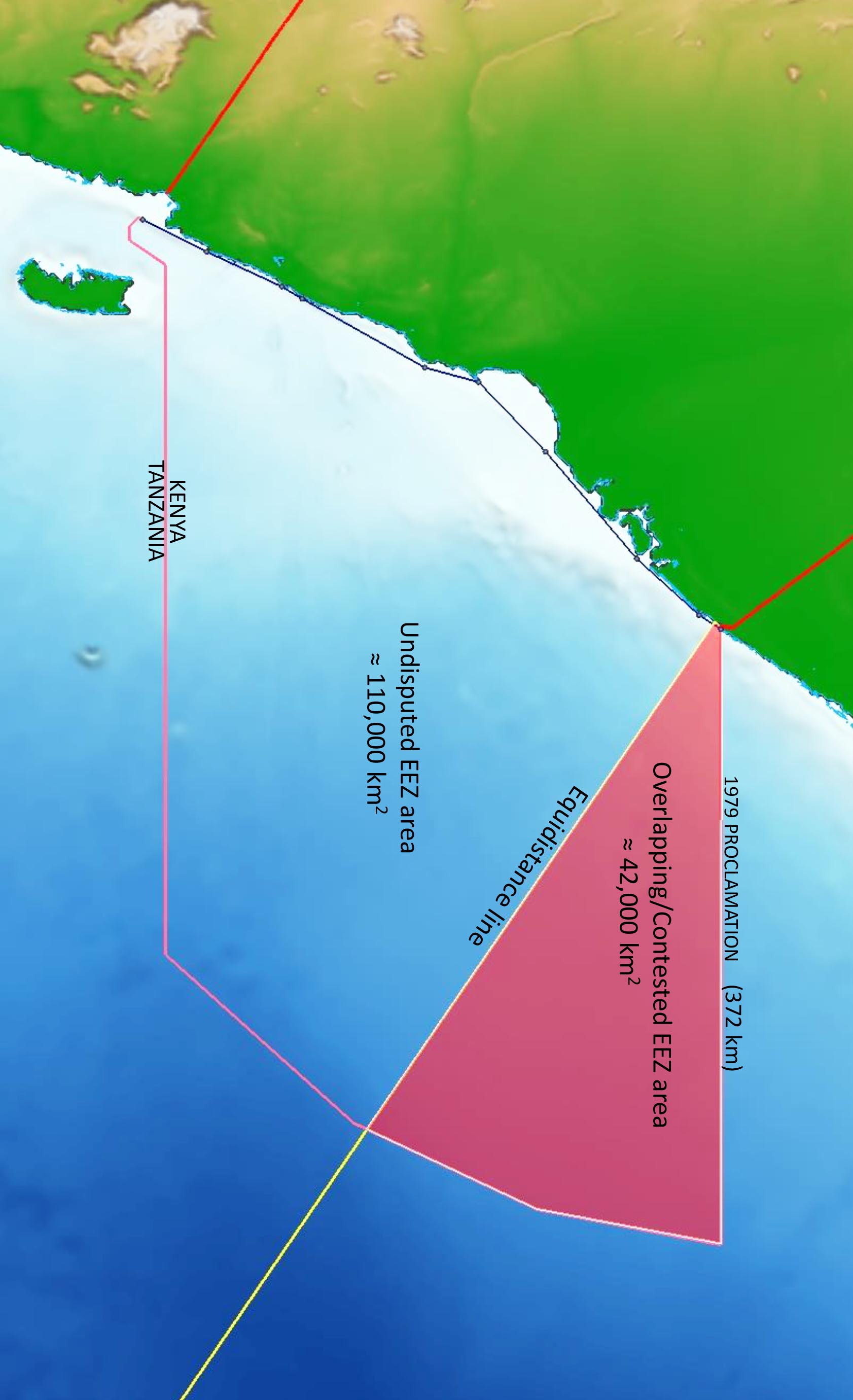 Disputed EEZ Area Somalia vs Kenya Case: Maritime Delimitation in the Indian Ocean (Somalia vs. Kenya) Case