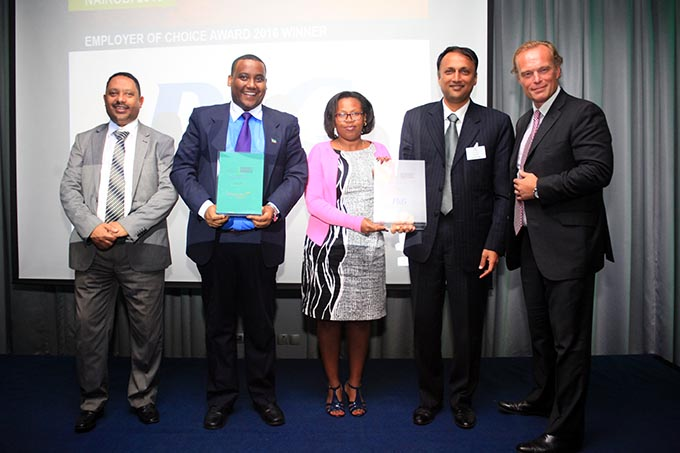 Procter & Gamble (P&G) has been named as the overall leading employer of choice at the inaugural East Africa Employer of Choice 2016 Awards