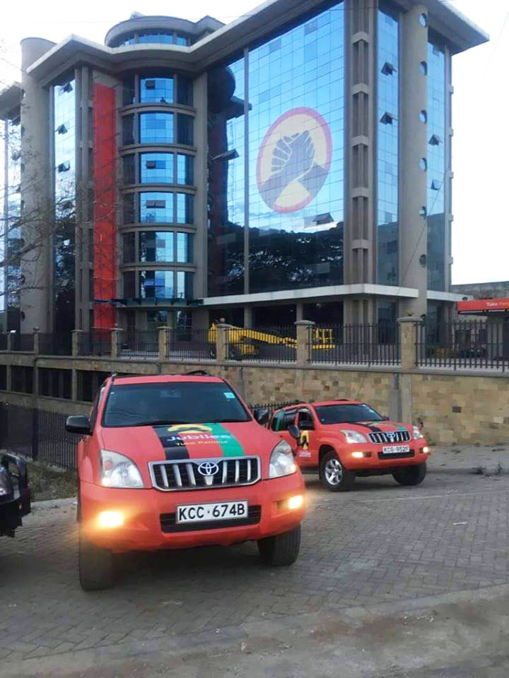 Jubilee Party HQ off Thika Road
