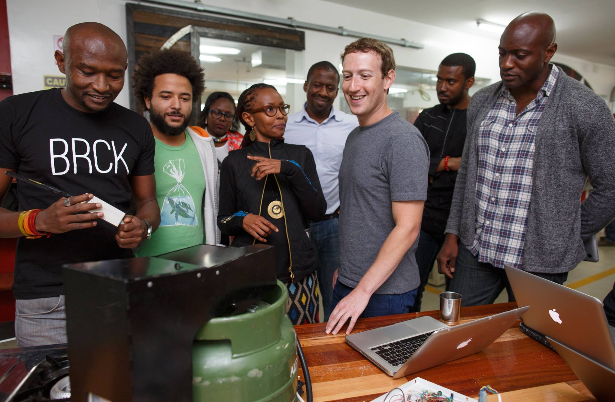 Mark Zuckerberg, iHub, Nairobi