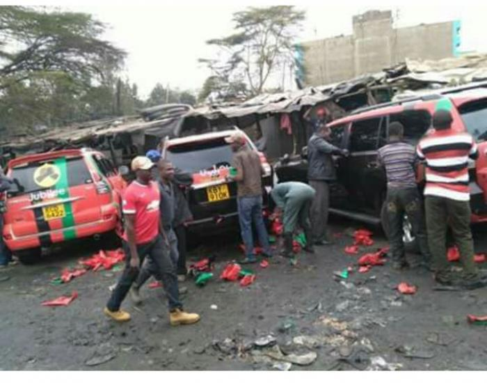 Jubilee's Expensive Vehicles Defaced, branding removed, After Grand Launch