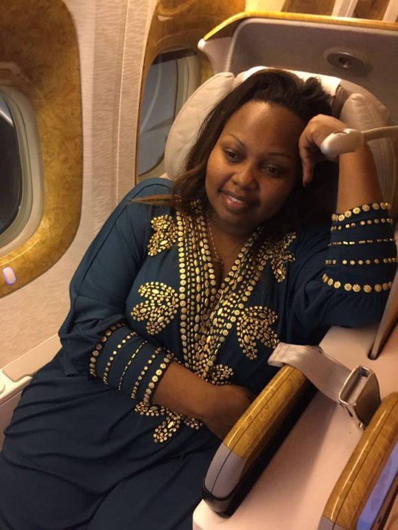 Mama County enroute to San Jose California for a two weeks training on leadership