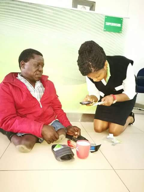 Pauline from Safaricom Nakuru branch