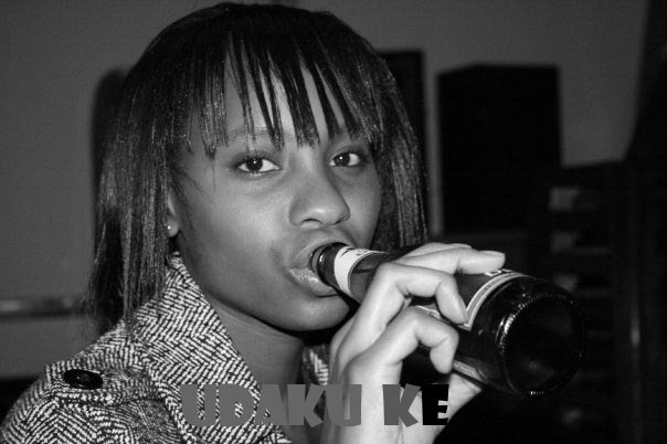 Sinqobile Ngwenya kissing Achola Fiona Ngobi