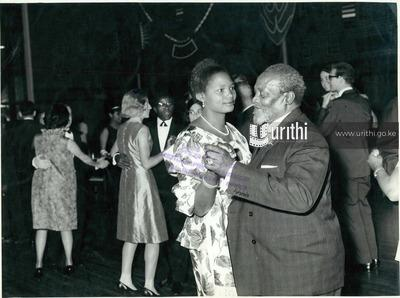 PRESIDENT Jomo Kenyatta and first lady take to the floor to usher in kenyatta day