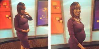 REALLY? What pregnant Janet Mbugua told a viewer will shock you!