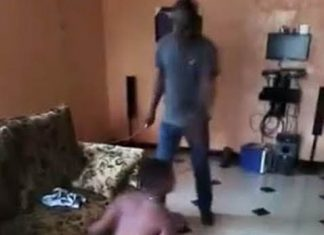 Dad catches daughter having s3x man in his house photos 2