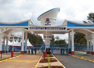 Kenyatta University Lecturers demonstrate