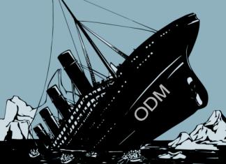 ODM Raila Odinga a Sinking ship