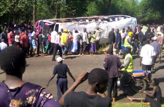 6 students of St. Mary's Nyamagwa Girls, Kisii are feared dead in a bus accident