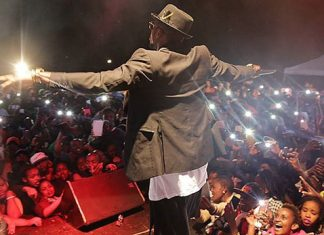 Diamond platnumz Show in Meru