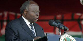 Former President Mwai Kibaki hospitalised