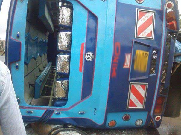 5 confirmed dead 59 others injured accident along Tawa Masii Road Makuweni - church bus involved