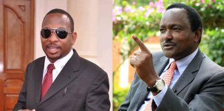 Mike Sonko and Kalonzo Musyoka