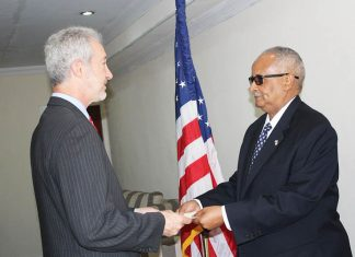 New US Ambassador from US, United states to Somalia