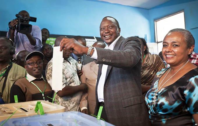 Uhuru Kenyatta Wins 2017 Elections