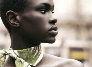 Kenyan top model Ajuma Nasenyana
