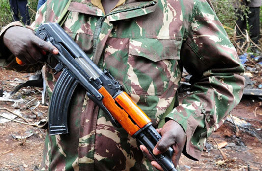 Four Kenyan cops 'abducted' by Al Shabaab fighters