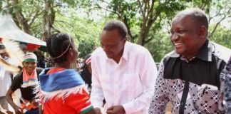 Kwale Governor Salim Mvurya (ODM) declared support for Jubilee