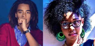 Sean Andrew Kibaki(President Kibaki's grandson) and Elodie cutest couple ever