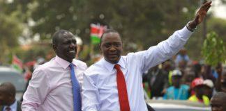 Uhuru Ruto 2017 re-election bid