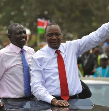 Uhuru Ruto 2017 re-election bid