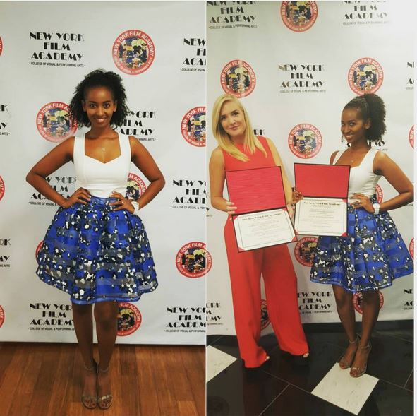 Sarah Hassan Graduates from the New York Film Academy