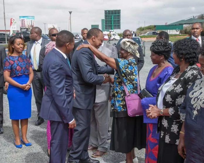 Governor Mutua's wife Lilian Mutua attends Mashujaa Day