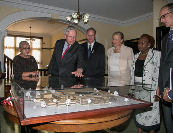 First Lady Margaret Kenyatta meets with top officials of Roche Group