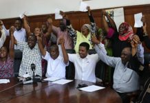 MSA MCAs Mombasa caught in bribery deal arrested by EACC detectives