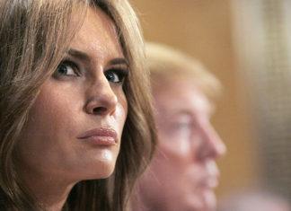 Melania Trump pussy bow blouse