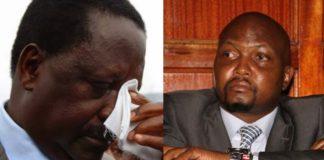 Moses Kuria and Raila Odinga Hate speech