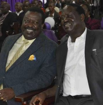 Musalia Mudavadi OFFICIALLY agrees to join Raila Odinga