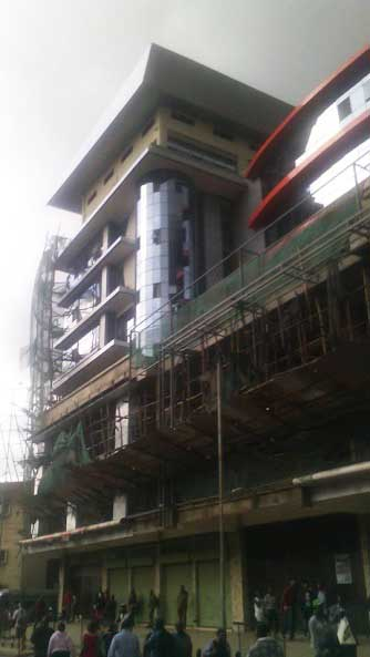 Anne Waiguru multi-million business plaza in downtown Nairobi