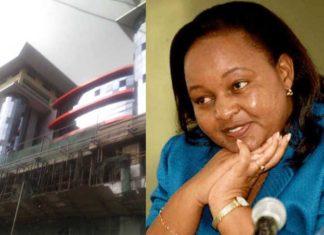 Anne Waiguru multi-million business plaza in downtown Nairobi