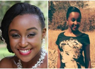 Betty Kyalo's look alike Pra Splendi