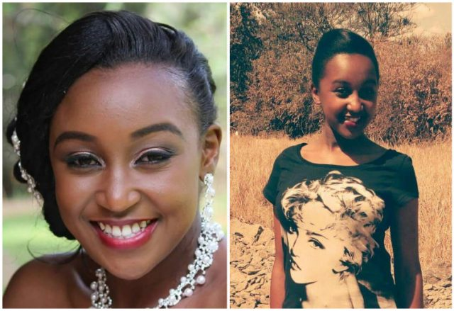 Betty Kyalo's look alike Pra Splendi
