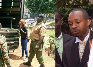 Boniface Mwangi's wife arrested