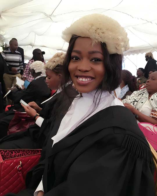 Corazon Kwamboka Becomes a Lawyer