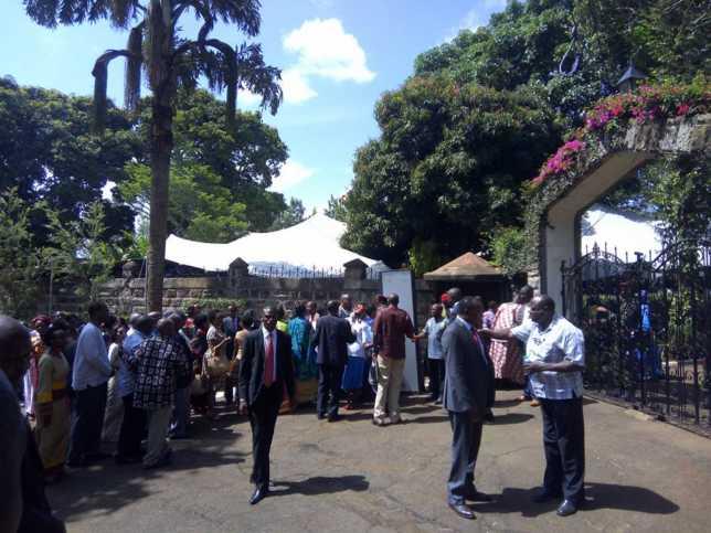 Jomo Kenyatta's Exclusive Gatundu Wedding Ceremony To Achola Ngobi