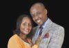Senator Mutula Kilonzo Junior and his wife