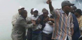 Police Teargas Bomet Governor Isaac Ruto