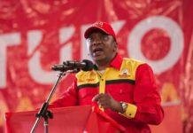 Uhuru's campaign team 2017